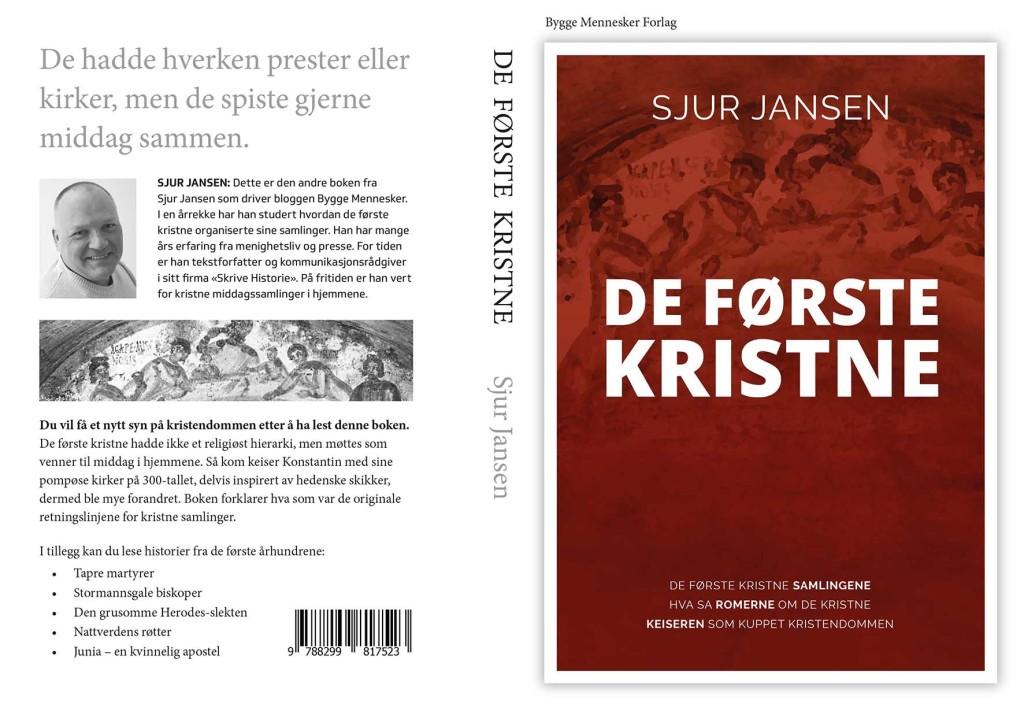 Bokomslag til boken De første kristne skrevet av Sjur Jansen.
